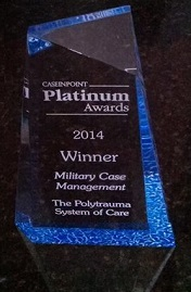 Platinum Award for VHA's Polytrauma System of Care