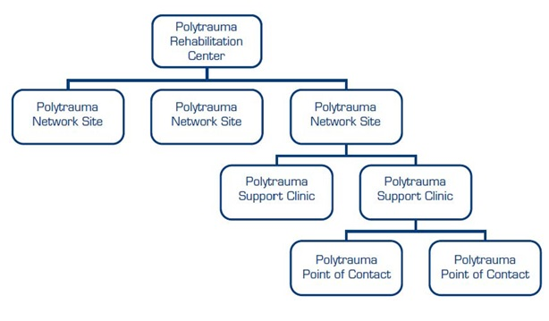 Org Chart of the Polytrauma System of Care